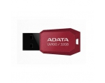 Atmintukas Adata DashDrive UV100 32GB Raudonas, Slim design: storis vos 5.8mm