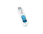 A-DATA Classic C008 64GB White+Blue USB 2.0 Flash Drive