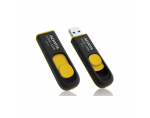 A-DATA DashDrive UV128 32GB Black+Yellow USB 3.0 Flash Drive