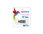 A-DATA FlashDrive UV131 64GB  Chromium Grey USB 3.0 Flash Drive