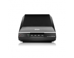 Epson Perfection V600 Photo (ITD) color scanner / 6400 dpi / Color: 48-bit / Grayscale: 16-bit / 3.4 Dmax / Scaling zoom: 50 – 200% (1% step) / 4 buttons: Scan